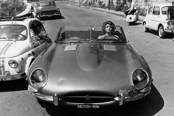 E-type and woman1